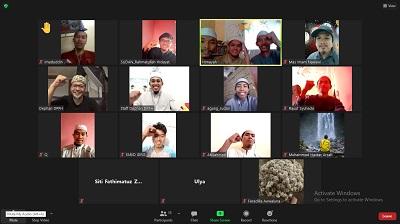 silaturrahim online dengan mahasiswa di Sudan