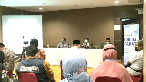 Bambang Suherman menjadi narasumber Konferensi Pers untuk Palestina di Hotel Sofyan Jakpus